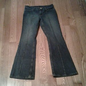 Polo Ralph Lauren Stretch Flare Leg Jeans Ribbed